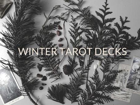 Winter Tarot Decks
