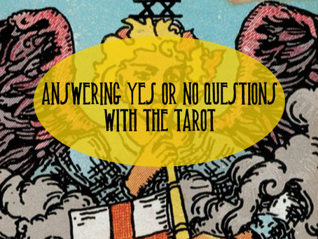 Answering Yes or No Questions with Tarot