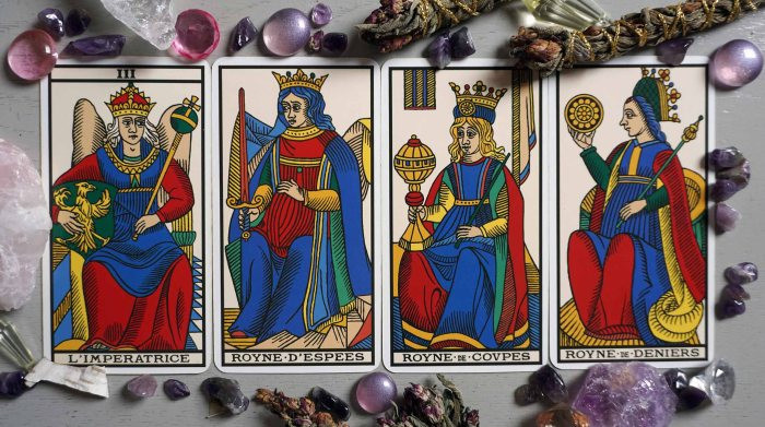 tarot cards pregnancy empress queen