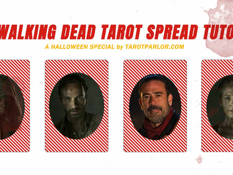 The Walking Dead Tarot Spread – 2 Halloween Tutorials