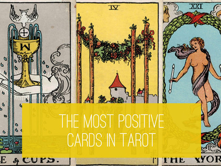 Most Positive Tarot Cards – Infographics and Overview