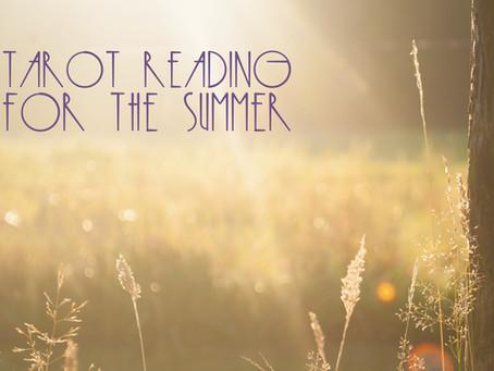 Summer Tarot Reading Tutorial