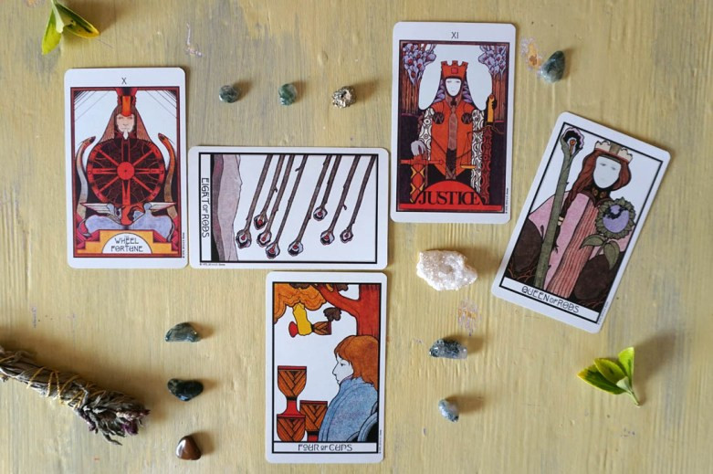 Reading Tarot For Yourself Structured Layouts