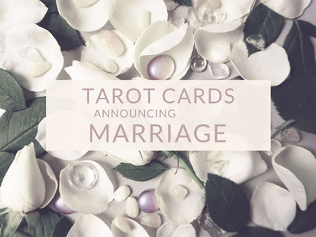 Tarot Cards Announcing Marriage and Civil Union