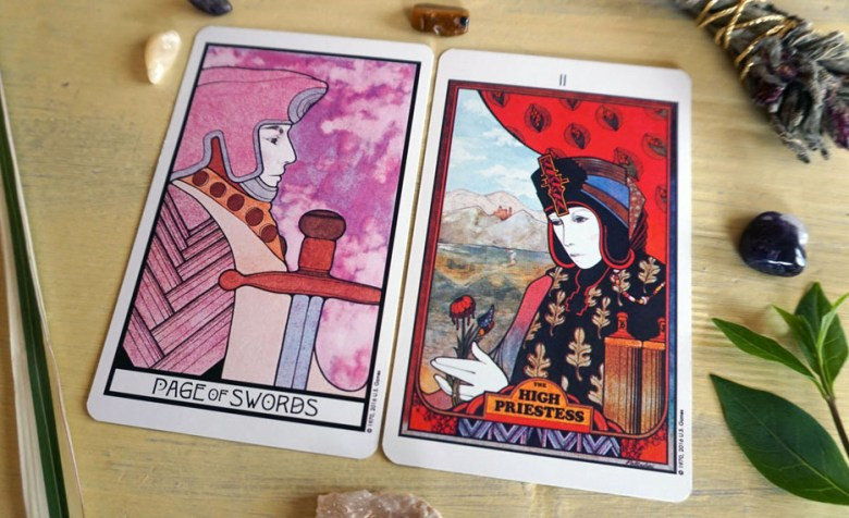 Reading Tarot For Yourself with 2 Cards
