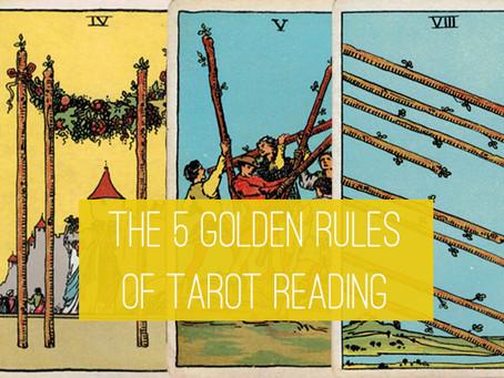 5 Golden Rules of Tarot Reading