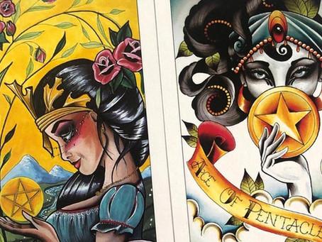 Eight Coins Tattoo Tarot Review