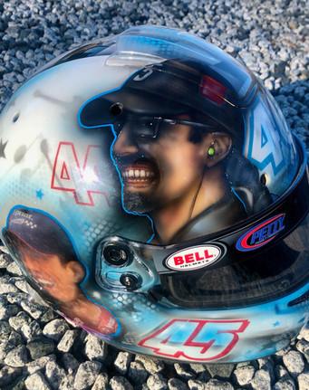 Thad Moffitt Helmet #1