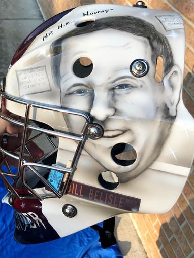 Bill Belisle Goalie Mask