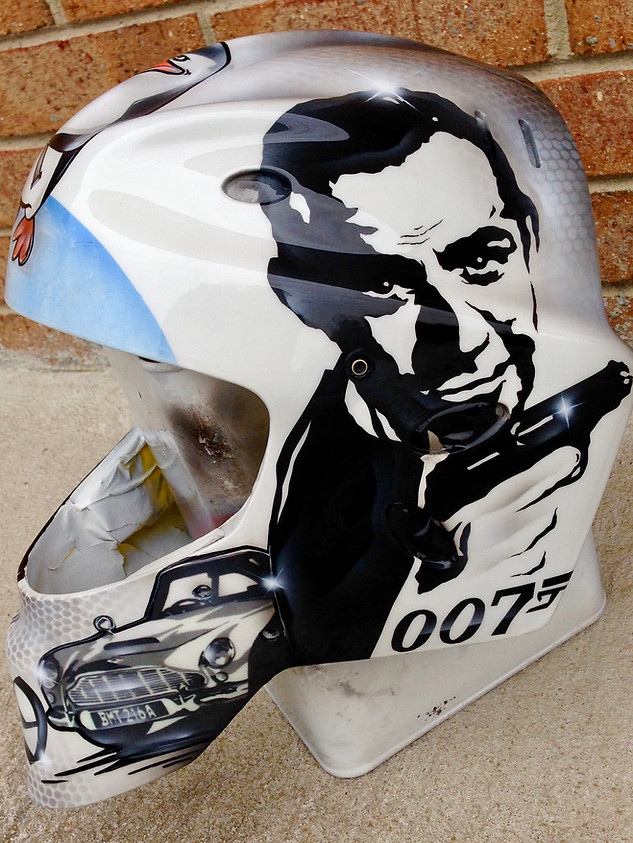 James Bond Hockey Mask