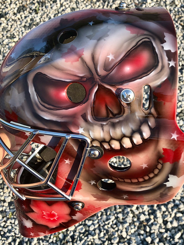 Skull Hockey Mask
