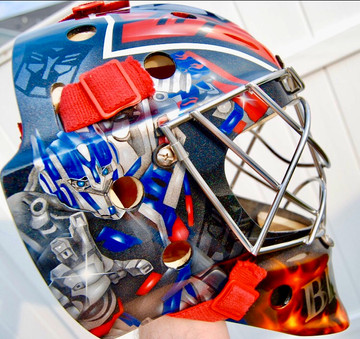 Transformers Hockey Mask