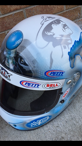 Richard Petty Helmet