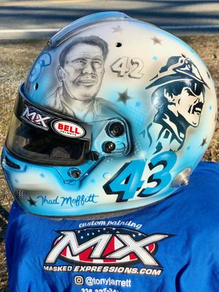 Thad Moffitt Helmet #4