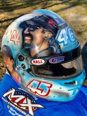 Thad Moffitt Helmet #2