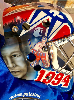 Mike Richter Tribute Mask