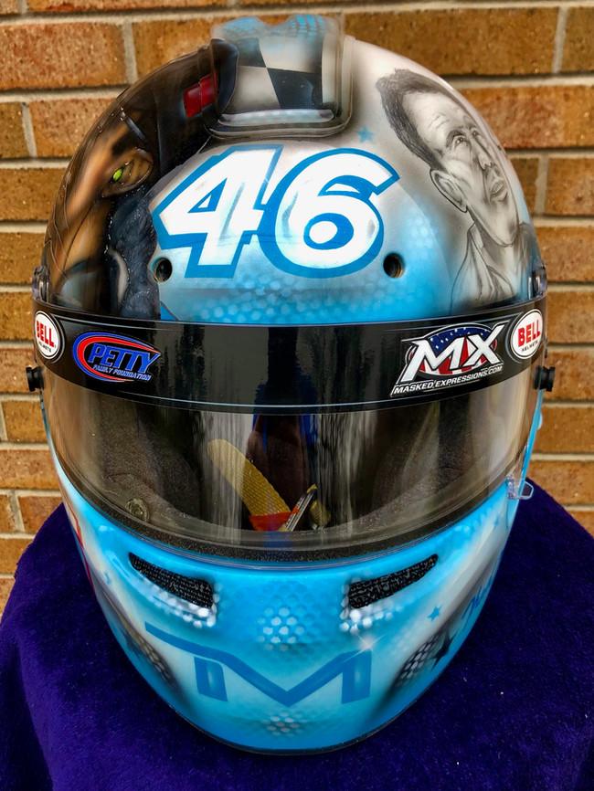 Thad Moffitt Helmet #3