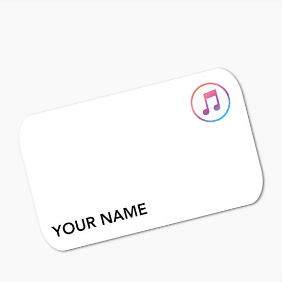 Apple Music Convenience Card