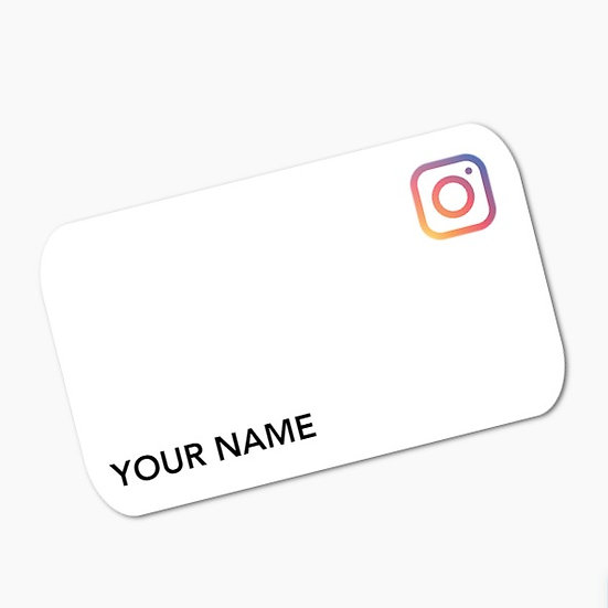 Link Your Card to Instagram