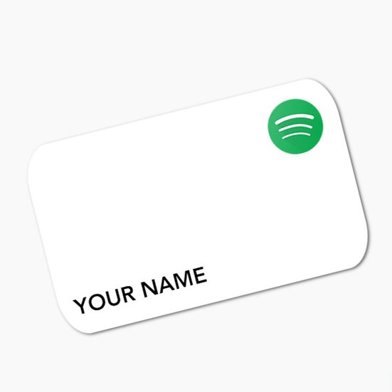 Link Your Card to Spotify