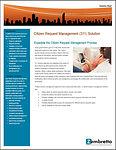 Citizen Request Management Solution Brie