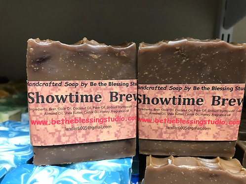 Showtime Brew!  Beer soap