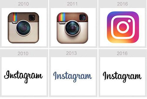 Em 6 anos a marca do Instagram mudou 2 vezes até a forma minimalista atual