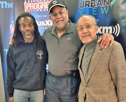 Dr. Clarence Lusane, Wilmer Leon and Dr. Joe McCormick