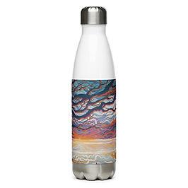 "Water Bottle ""Good Morning II"" by Ashnoalice"