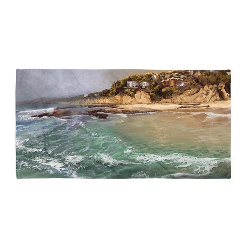 """Beach Towel """"Laguna Beach"""" by """"chateaugrief"""""""