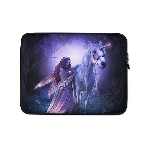 "Laptop sleeve ""Unicorn"" by ElenaDudina"