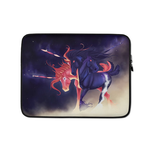 """Laptop sleeve """"Error Not Found"""" by Astralseed"""