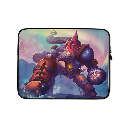 "Laptop sleeve ""Gnomish Ancient Guardian"" by DasGnomo"