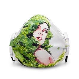 "Mask ""Greens"" by Bikangarts"
