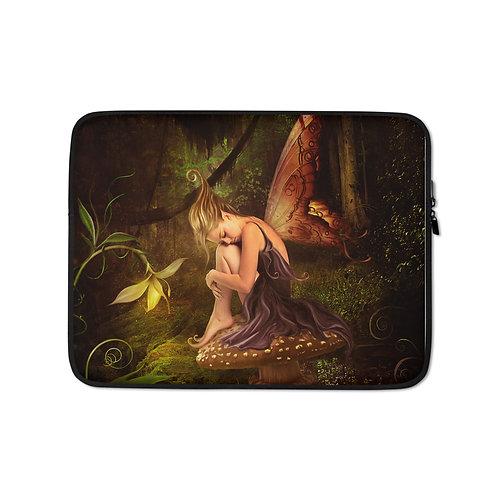 """Laptop sleeve """"El Bosque Magico"""" by ElenaDudina"""