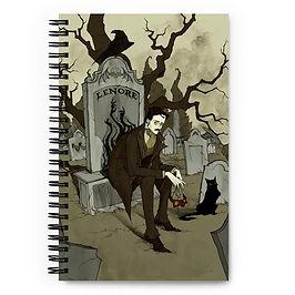 """Notebook """"Edgar Allen Poe"""" by AbigailLarson"""