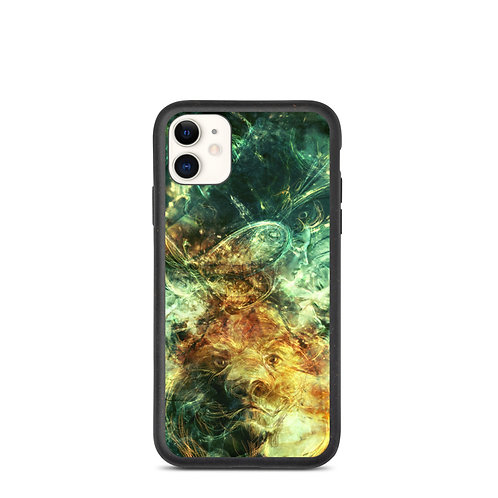 """iPhone case """"Of Lions and Butterflies"""" by Solar-sea"""