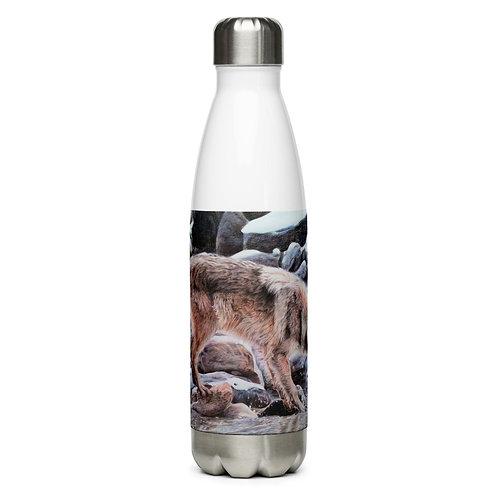 "Water Bottle ""Look Before You Leap"" by Beckykidus"