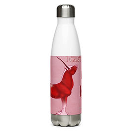 """Water Bottle """"I Can't Contain My Love"""" by Astralseed"""