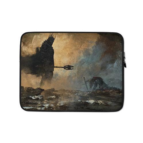 "Laptop sleeve ""The Fate of Isildur"" by Anatofinnstark"