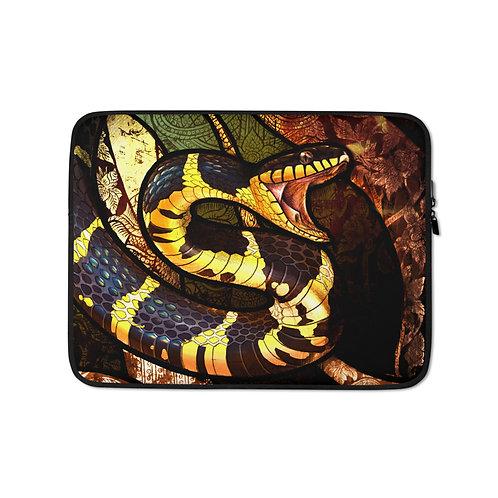 "Laptop sleeve ""Mangrove Snake"" by Culpeo-Fox"