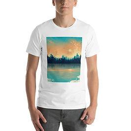 "T-Shirt ""Winter Reflection "" by Saddielynn"