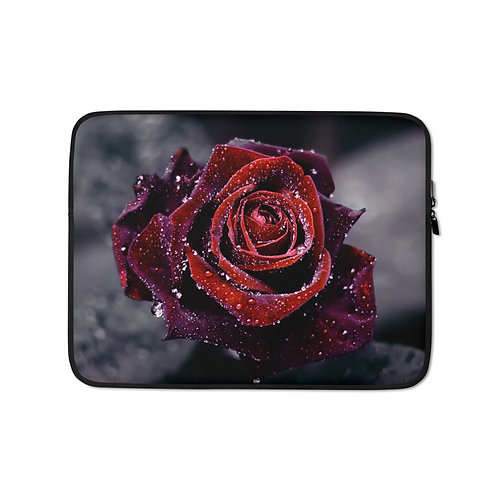 """Laptop sleeve """"Luxury"""" by Lilyas"""