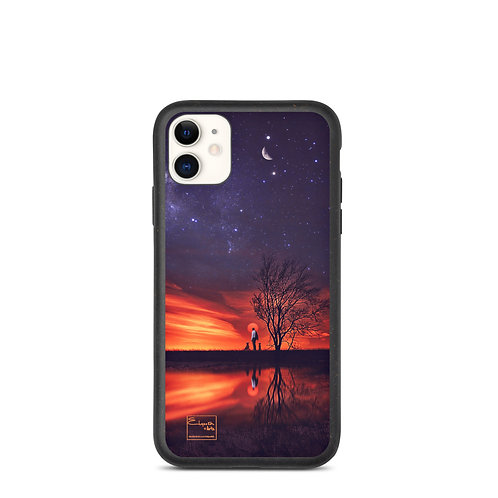 """iPhone case """"A Special Sunset"""" by Elysekh"""