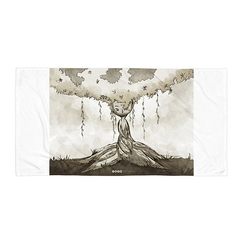 "Beach Towel ""Negdje"" by Thiefoworld"