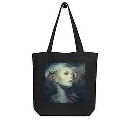 """Tote bag """"Fly"""" by """"Escume"""""""