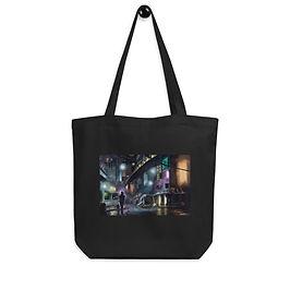 "Tote bag ""Cyberpunk City"" by Hymnodi"