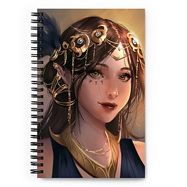 """Notebook """"Original DND Character"""" by Pigliicorn"""