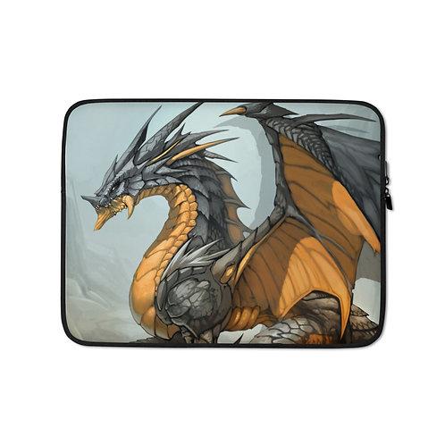 """Laptop sleeve """"Ash Dragon"""" by El-grimlock"""