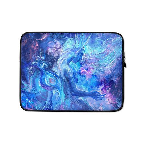 """Laptop sleeve """"Mermaids Wintertale"""" by Solar-sea"""
